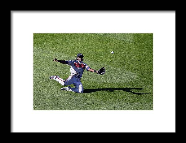 People Framed Print featuring the photograph Cameron Maybin by Jim Mcisaac
