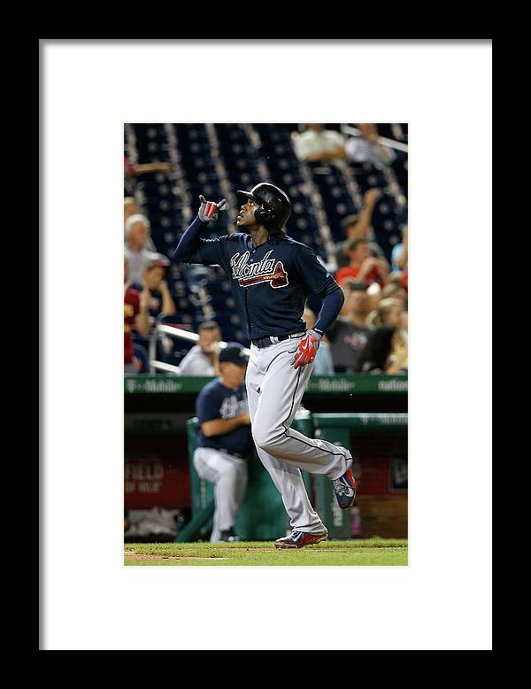 People Framed Print featuring the photograph Cameron Maybin by Rob Carr