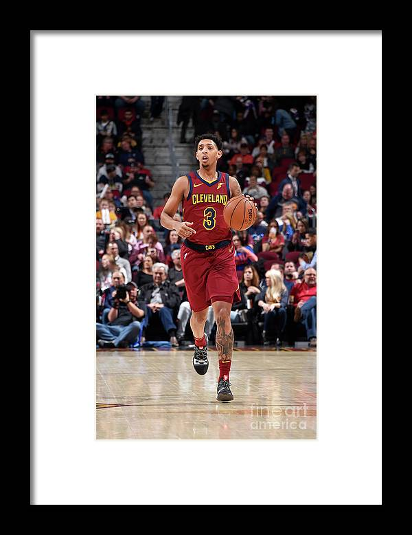 Nba Pro Basketball Framed Print featuring the photograph Cameron Payne by David Liam Kyle