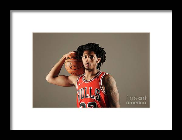 Media Day Framed Print featuring the photograph Cameron Payne by Randy Belice