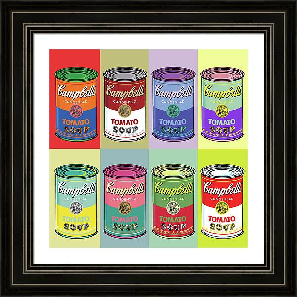 Campbells 8 AW style by POP ART Artstudione