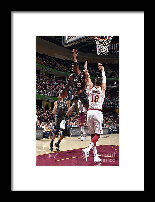 Nba Pro Basketball Framed Print featuring the photograph Caris Levert by David Liam Kyle