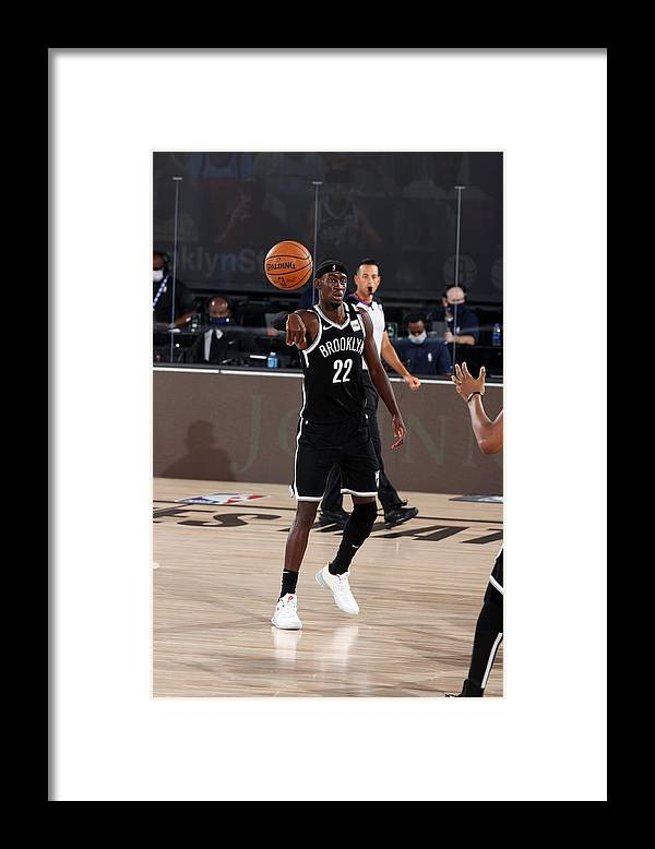 Nba Pro Basketball Framed Print featuring the photograph Caris Levert by David Sherman