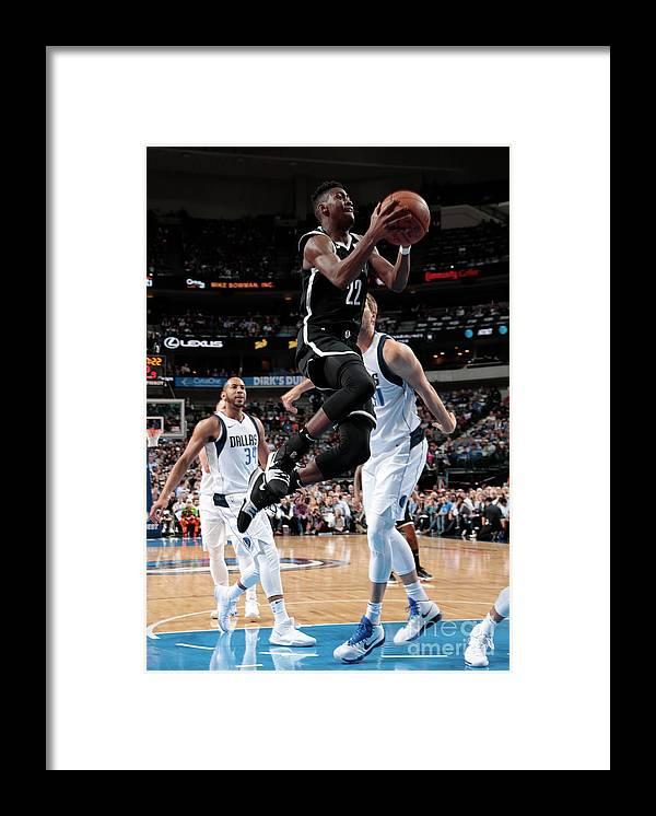 Nba Pro Basketball Framed Print featuring the photograph Caris Levert by Glenn James