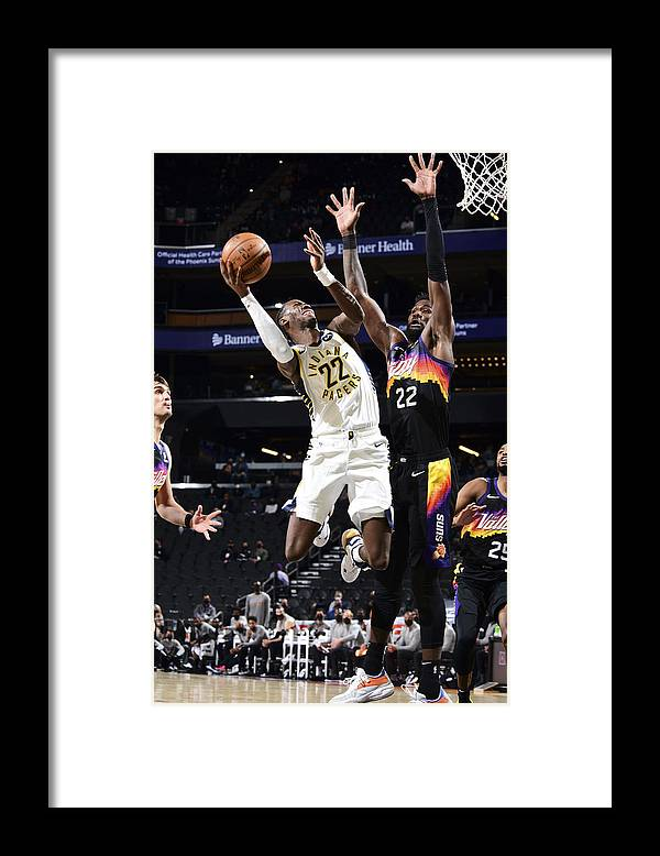 Nba Pro Basketball Framed Print featuring the photograph Caris Levert by Michael Gonzales
