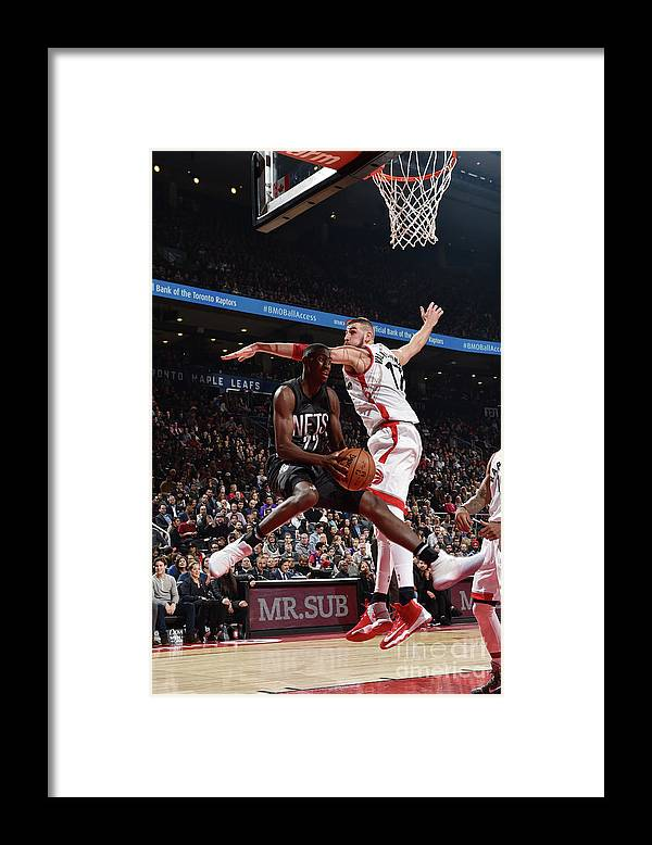 Nba Pro Basketball Framed Print featuring the photograph Caris Levert by Ron Turenne
