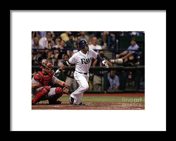 Playoffs Framed Print featuring the photograph Carl Ray by Icon Sports Wire