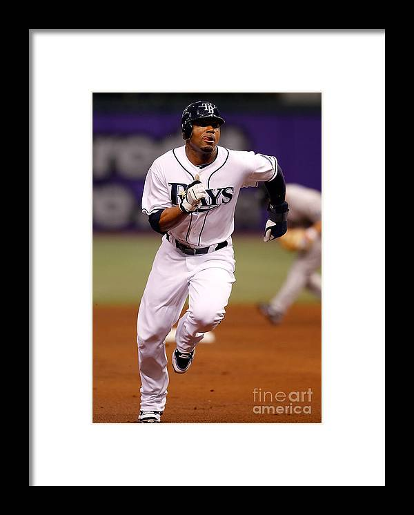 American League Baseball Framed Print featuring the photograph Carl Ray by J. Meric