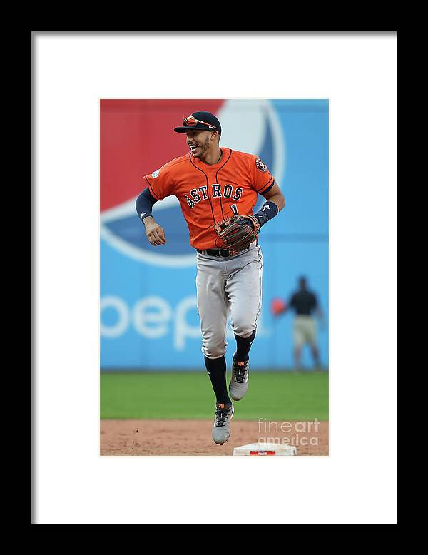 People Framed Print featuring the photograph Carlos Correa by Gregory Shamus