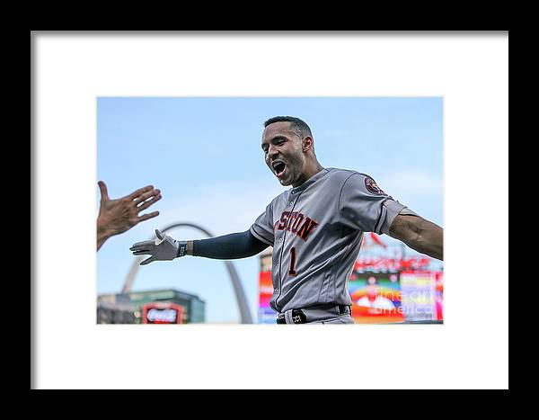 People Framed Print featuring the photograph Carlos Correa by Scott Kane
