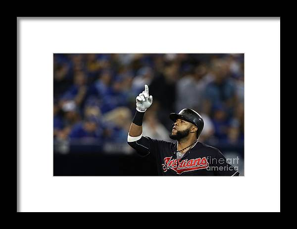People Framed Print featuring the photograph Carlos Santana and Marco Estrada by Elsa