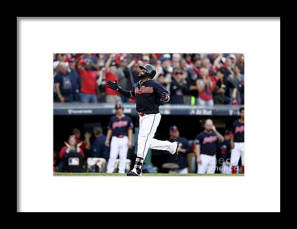 Game Two Framed Print featuring the photograph Carlos Santana by Elsa
