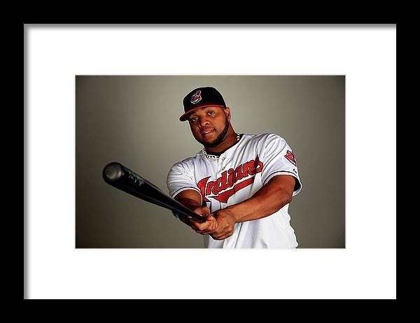 Media Day Framed Print featuring the photograph Carlos Santana by Jamie Squire