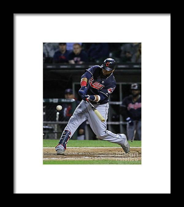People Framed Print featuring the photograph Carlos Santana by Jonathan Daniel