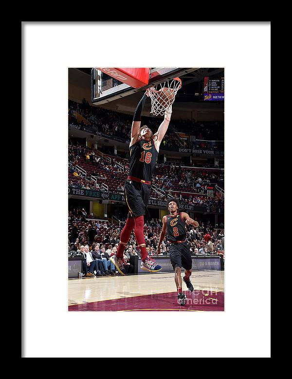 Nba Pro Basketball Framed Print featuring the photograph Cedi Osman by David Liam Kyle