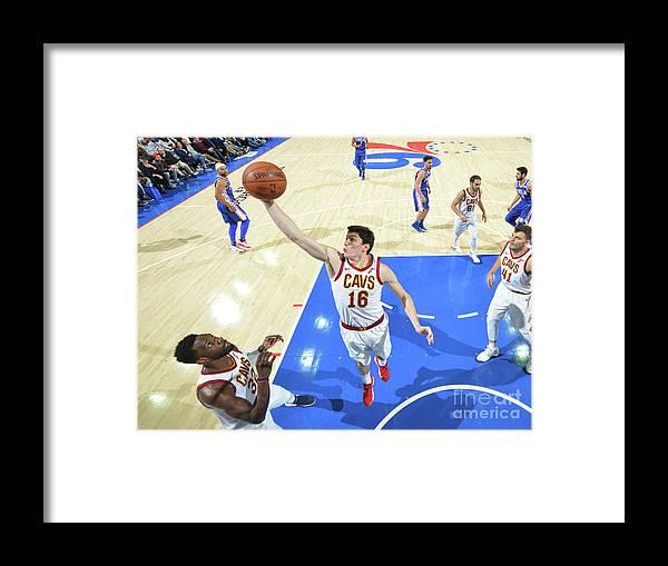 Nba Pro Basketball Framed Print featuring the photograph Cedi Osman by Jesse D. Garrabrant