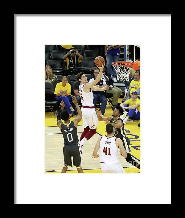 Playoffs Framed Print featuring the photograph Cedi Osman by Joe Murphy