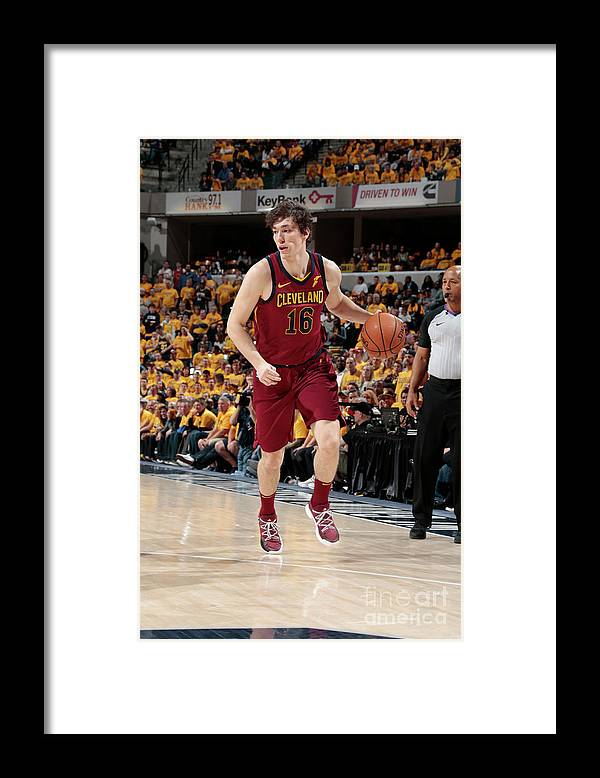 Playoffs Framed Print featuring the photograph Cedi Osman by Ron Hoskins