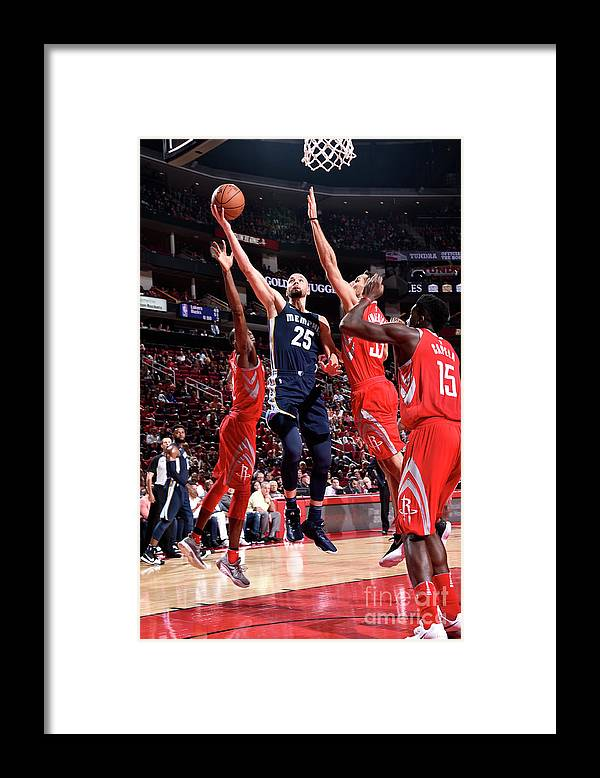 Nba Pro Basketball Framed Print featuring the photograph Chandler Parsons by Bill Baptist