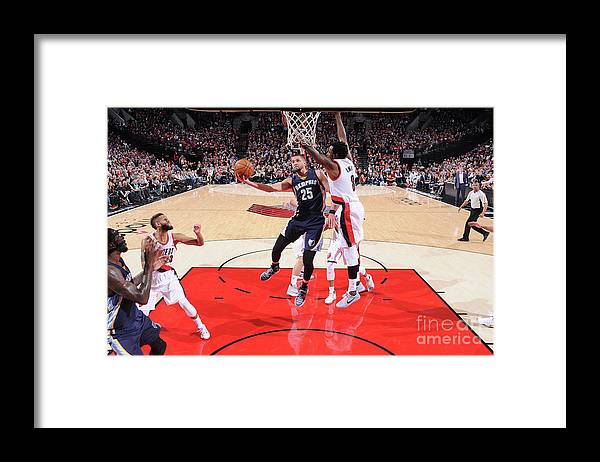 Nba Pro Basketball Framed Print featuring the photograph Chandler Parsons by Sam Forencich