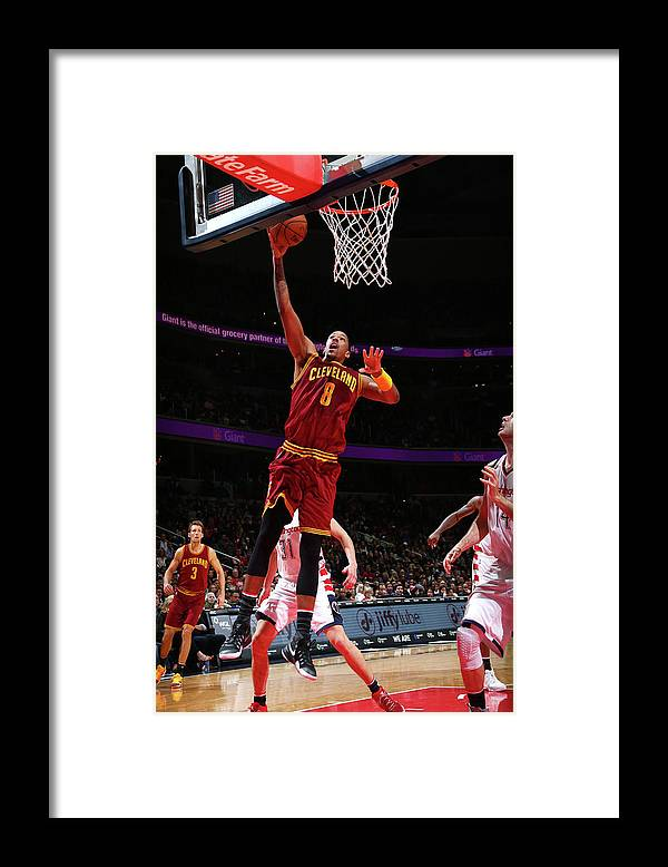 Nba Pro Basketball Framed Print featuring the photograph Channing Frye by Ned Dishman