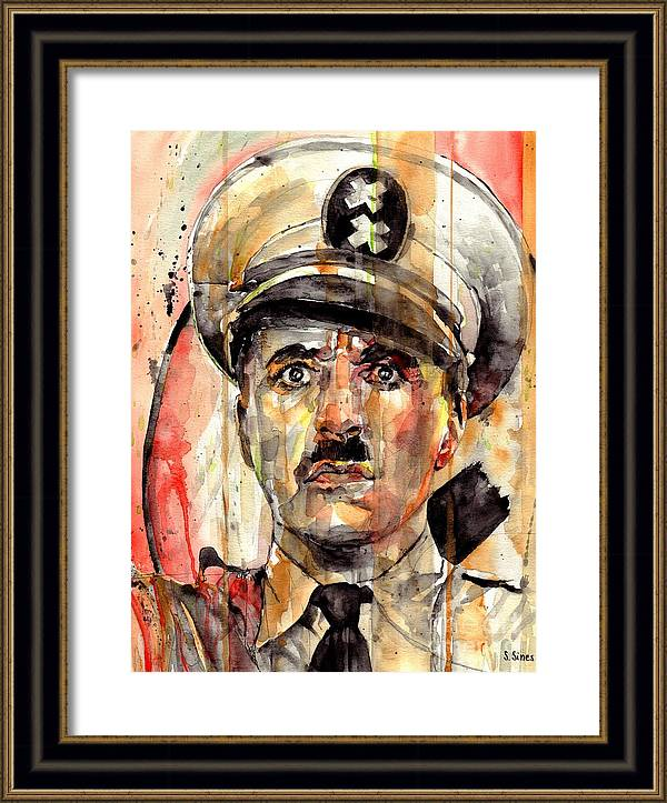 Charlie Chaplin - The Great Dictator by Suzann Sines