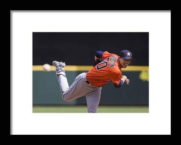 People Framed Print featuring the photograph Charlie Morton by Lindsey Wasson