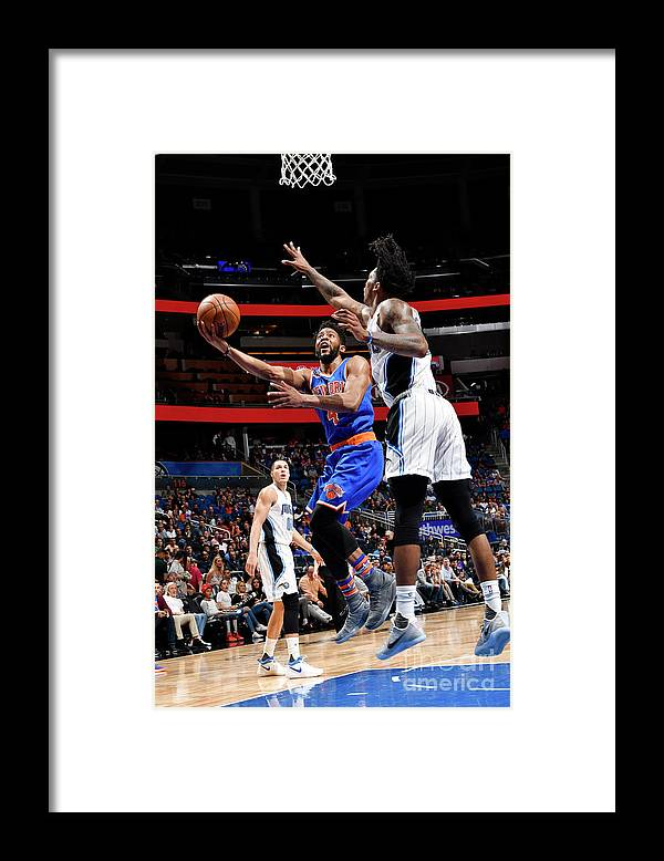 Nba Pro Basketball Framed Print featuring the photograph Chasson Randle by Fernando Medina
