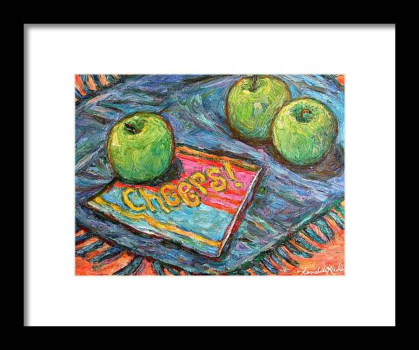 Still Life Framed Print featuring the painting Cheers by Kendall Kessler