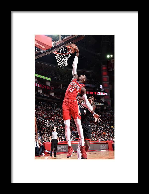 Nba Pro Basketball Framed Print featuring the photograph Cheick Diallo by Bill Baptist