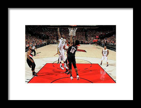 Nba Pro Basketball Framed Print featuring the photograph Cheick Diallo by Cameron Browne