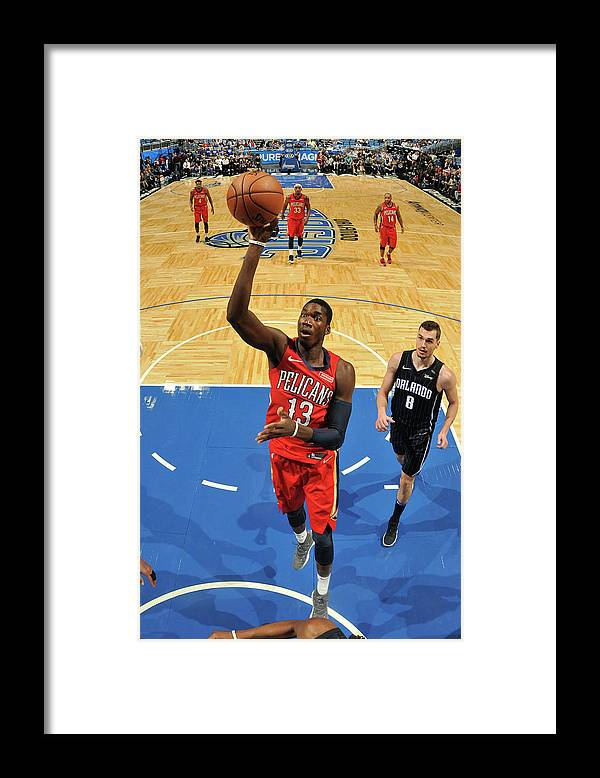 Nba Pro Basketball Framed Print featuring the photograph Cheick Diallo by Fernando Medina