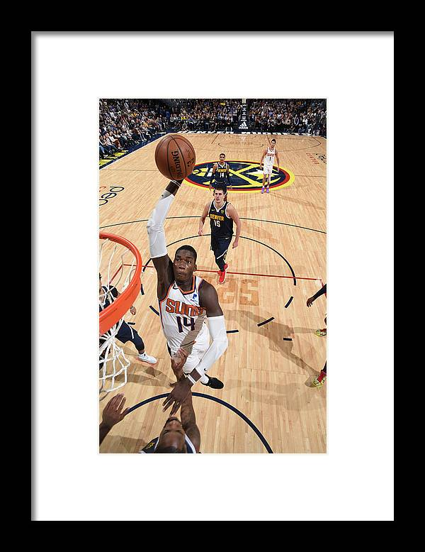 Nba Pro Basketball Framed Print featuring the photograph Cheick Diallo by Garrett Ellwood