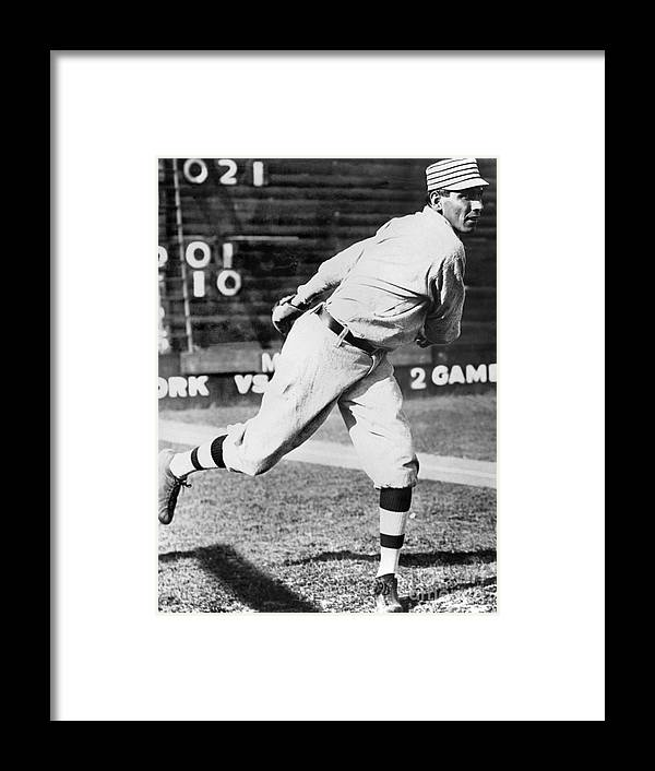 People Framed Print featuring the photograph Chief Bender by National Baseball Hall Of Fame Library