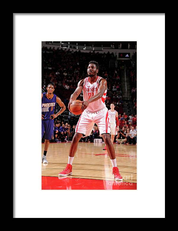 Nba Pro Basketball Framed Print featuring the photograph Chinanu Onuaku by Bill Baptist