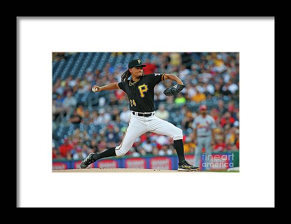 People Framed Print featuring the photograph Chris Archer by Justin K. Aller