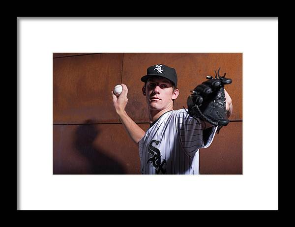 Media Day Framed Print featuring the photograph Chris Bassitt by Rob Tringali