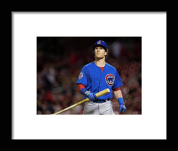 Ninth Inning Framed Print featuring the photograph Chris Coghlan by David Welker