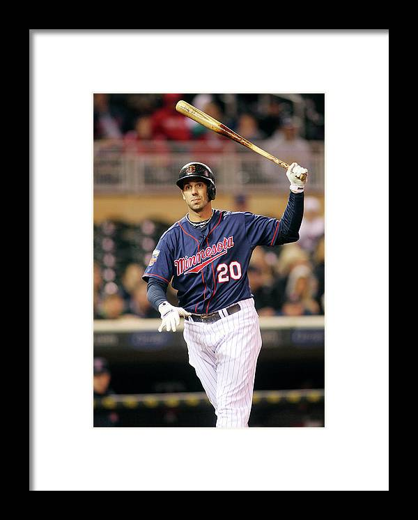 Ninth Inning Framed Print featuring the photograph Chris Colabello by Andy King