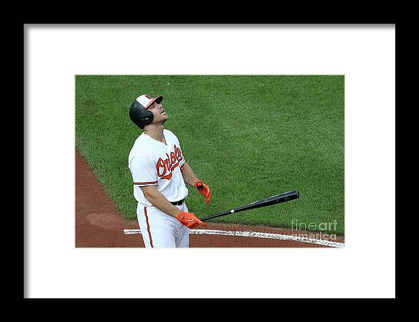 Three Quarter Length Framed Print featuring the photograph Chris Davis by Rob Carr