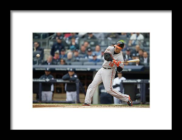 East Framed Print featuring the photograph Chris Davis by Rob Tringali