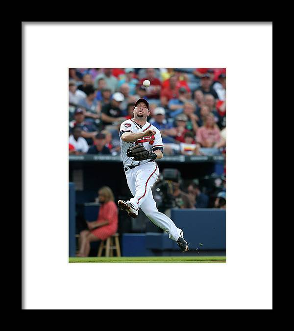 Atlanta Framed Print featuring the photograph Chris Johnson and David Ross by Kevin C. Cox