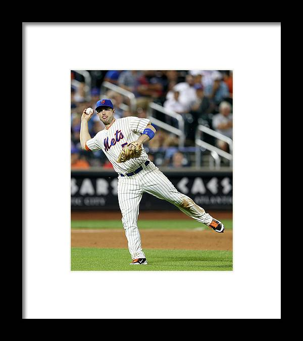 Residential District Framed Print featuring the photograph Chris Johnson and David Wright by Elsa