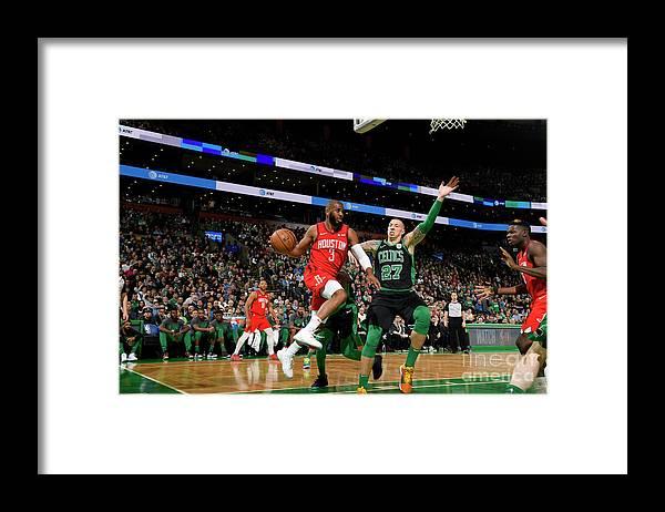 Nba Pro Basketball Framed Print featuring the photograph Chris Paul by Brian Babineau