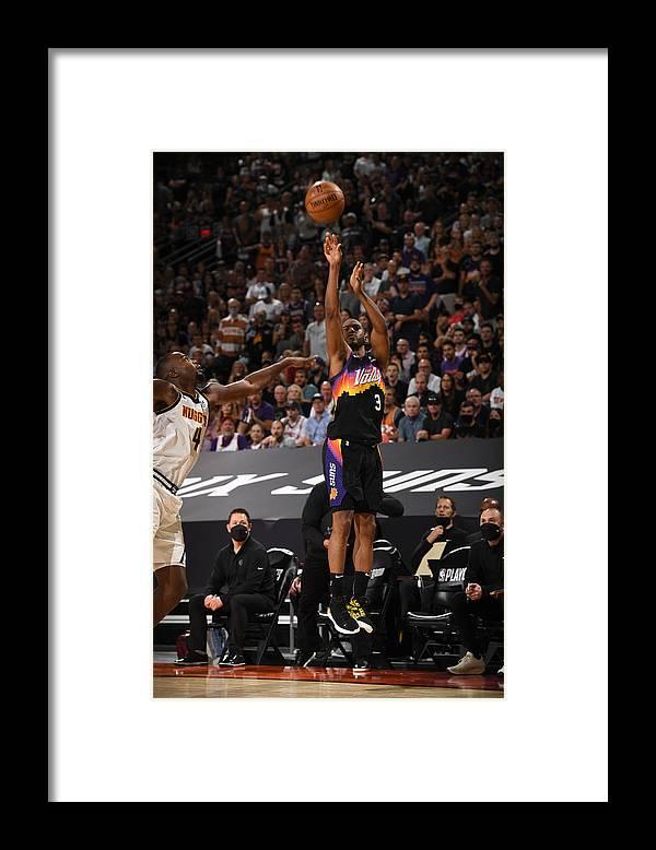 Playoffs Framed Print featuring the photograph Chris Paul by Garrett Ellwood