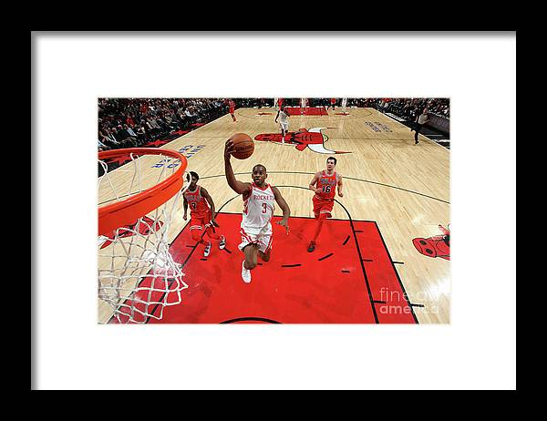Nba Pro Basketball Framed Print featuring the photograph Chris Paul by Gary Dineen