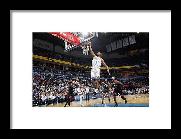 Nba Pro Basketball Framed Print featuring the photograph Chris Paul by Jeff Haynes