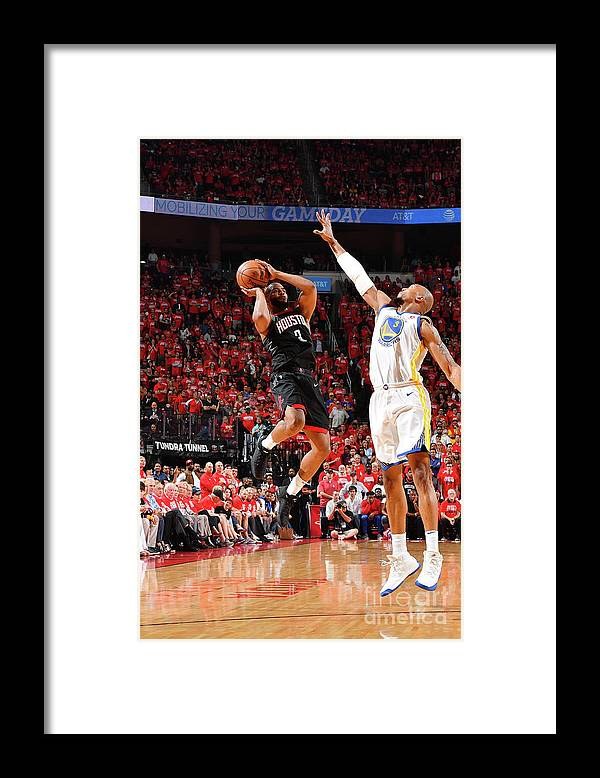 Playoffs Framed Print featuring the photograph Chris Paul by Jesse D. Garrabrant