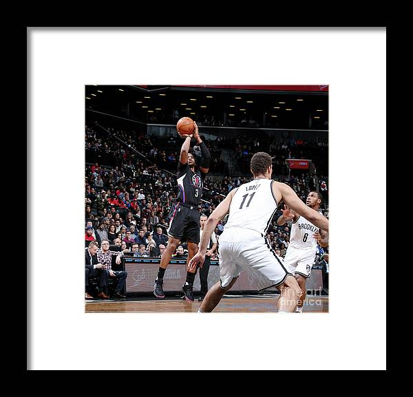 Nba Pro Basketball Framed Print featuring the photograph Chris Paul by Nathaniel S. Butler
