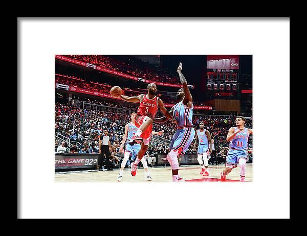 Atlanta Framed Print featuring the photograph Chris Paul by Scott Cunningham